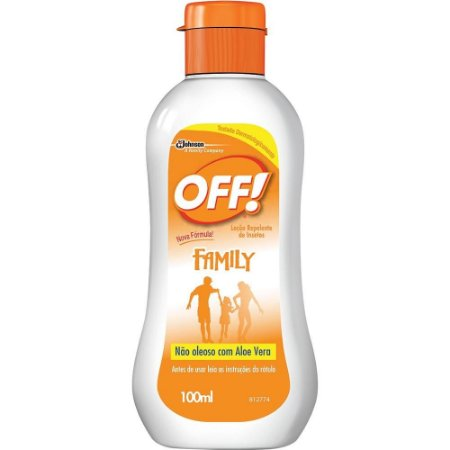 Repelente Off Loção Family 200ml