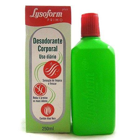 Lysoform Primo Plus 250ml  Não Fabrica Mais