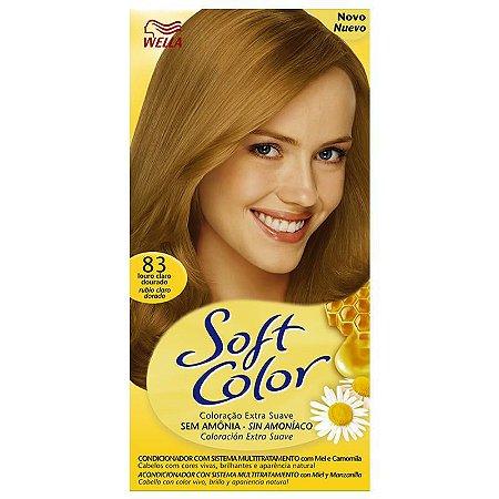Tintura soft color 83 louro dourado