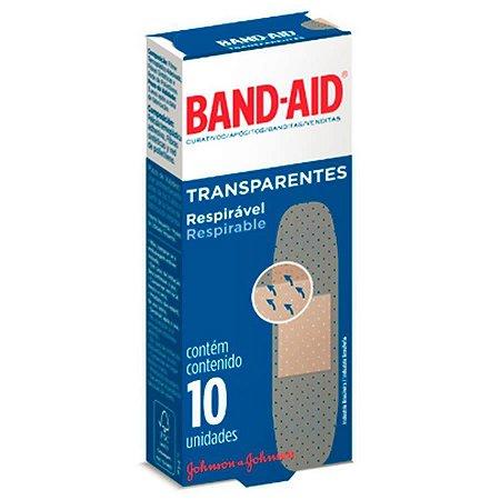Band Aid Transparente 10un Johnson & Johnson