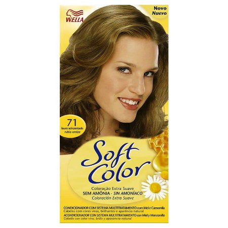 Tintura soft color 71 louro acinzentado