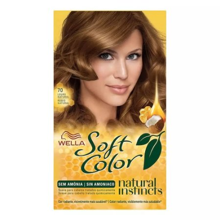 Tintura Soft Color 70 Louro Natural