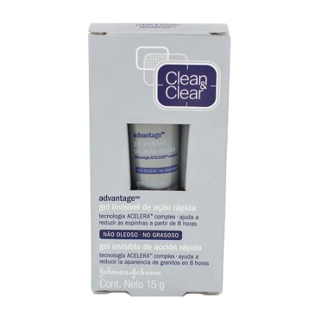 Clean & Clear Advantage Gel Secativo Anti Acne 15g
