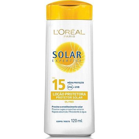 Protetor  Solar Loreal 120ml FPS 15 Loção