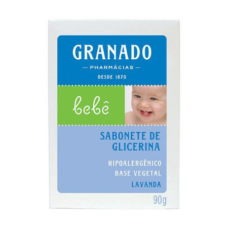 Sabonete Granado Bebe Lavanda 90gr