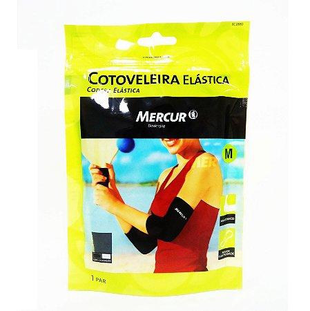 Cotoveleira Elástica Mercur Preta Tam M Ref. BC0065-BS