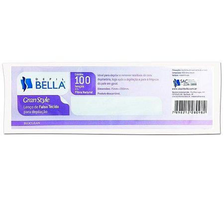 Depil Bella Lenço Para Depilação c/ 100 unid