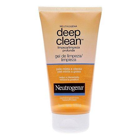 Neutrogena Deep Clean Gel De Limpeza Profunda 150gr