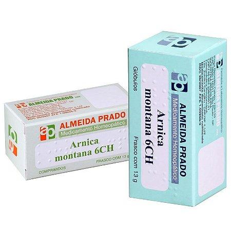 Arnica Montana globulos 6CH 13gr - Almeida Prado