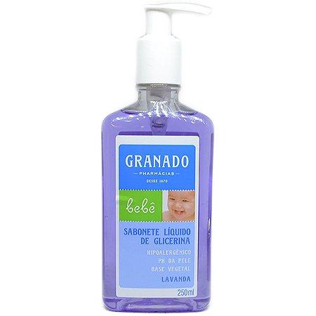 Sabonete Granado Bebe Liquido 250ml Lavanda
