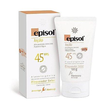 EPISOL  FPS 45 120GR loção Hipoalérgico