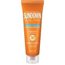 Bloqueador Solar Sundown Facial FPS30