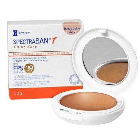 Spectraban T FPS 39 Color Base Compacta Bege Claro 10gr