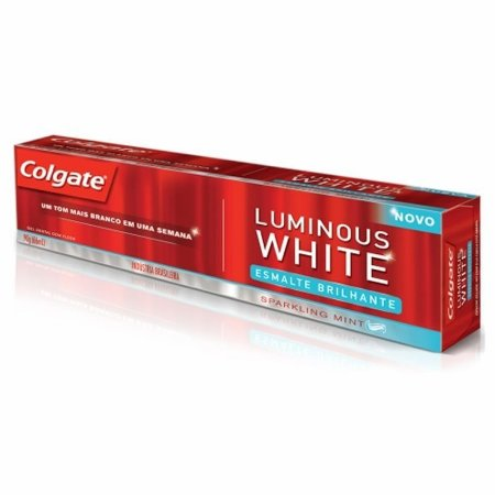 Creme Dental Colgate Luminous White Esmalte Brilh. 90g