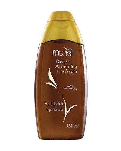 Óleo Muriel Corporal 150ml Amendoa com Avelã