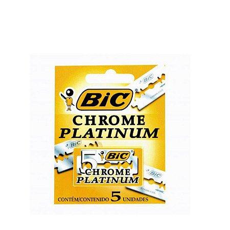 Lamina Bic Chrome Platinum 5un