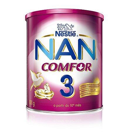 Leite Nan 3 Comfor 800gr