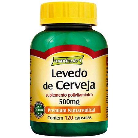 LEVEDO DE CERVEJA 500MG 120 CAPS (maxinutri)