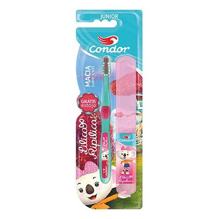 Escova Dental Condor Lilica & Ripilica Junior REF 3160
