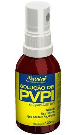 Solução de PVPI Spray Natulab
