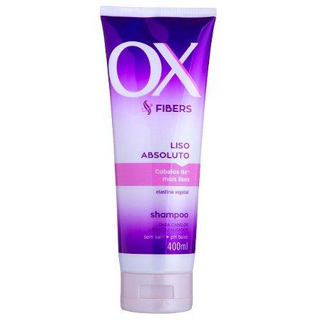 Shampoo OX Fibers Liso Absoluto 400ml