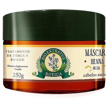 Mascara Bio Extratus Botica Henna Oliva 250g