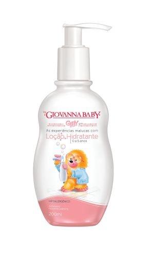 Loção Hidratante Infantil  Giovanna Baby 200ml