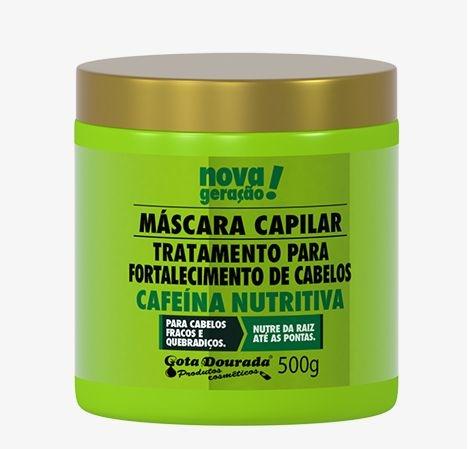 Mascara Capilar Cafeina Nutritiva 500 GR