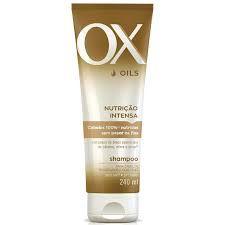 Shampoo OX Nutrição Intensa 240ML