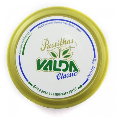 Valda Pastilha Lata 50gr Classic