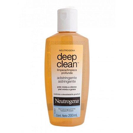 Neutrogena Deep Clean Adstrignte 200 ml ( limpeza profunda)