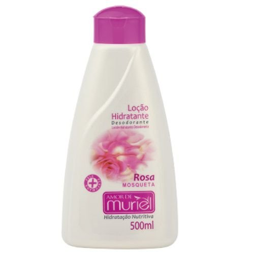 Locao Hidratante Amor de Muriel Rosa Mosqueta  500ML