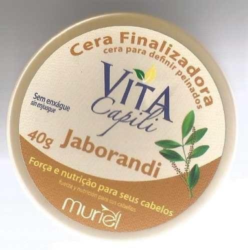 Cera Finalizadora Muriel Vita Capili 40gr Jaborandi