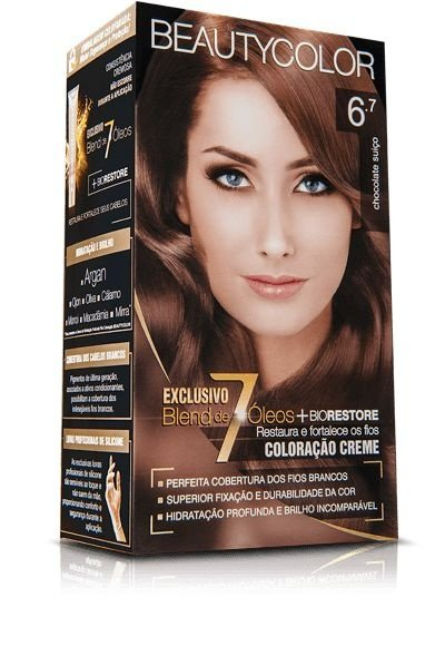 Tintura Beauty Color Kit Nova 6.7 Chocolate Suiço