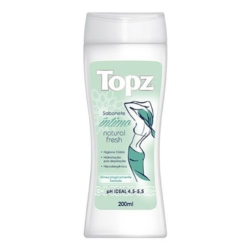 TOPZ SABONETE INTIMUO FRESH 200ML