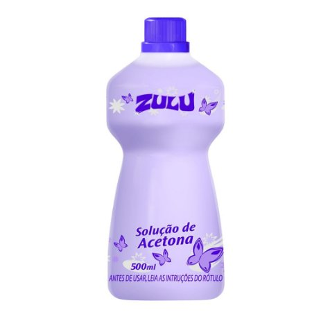 Removedor de Esmalte Zulu Seduction 500ml