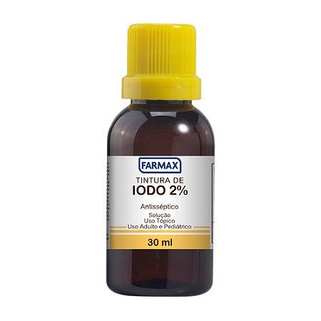 Tintura de Iodo 2% FARMAX 30mL