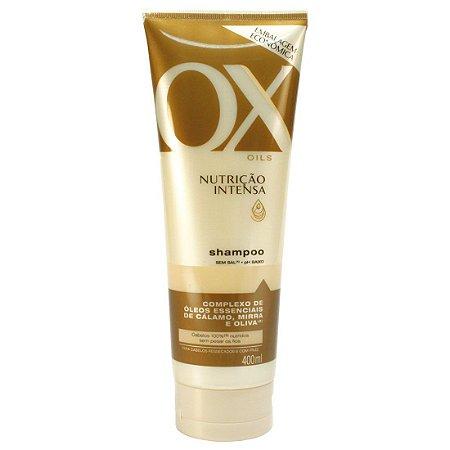 Shampoo OX Oils Nutrição Intensa 400ml
