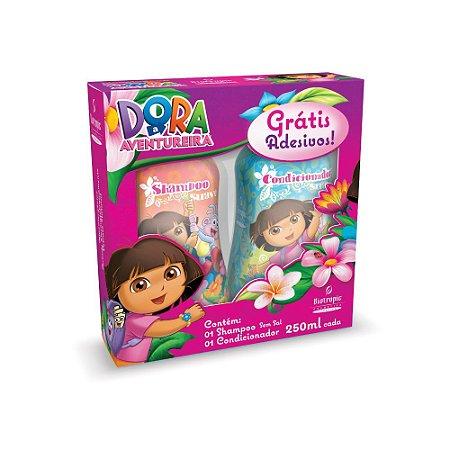 Kit Infantil Dora (Shampoo+Condicionador+Adesivo) 250ml cada