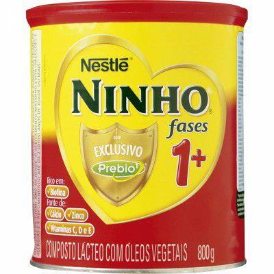 Leite Ninho Fases  PREBIO 1+ 800GR