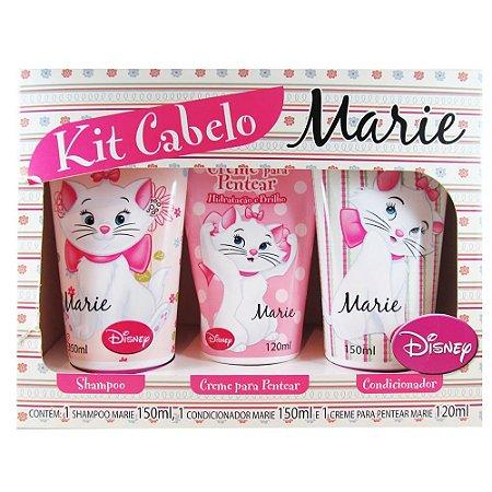 Kit Shampoo+Cond+ Creme Pentear Infantil Marie Disney