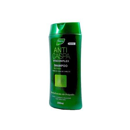 Shampoo Anticaspa Vitacomplex Refrescante Pharma 200ml