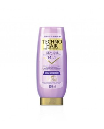 Condicionador Techno Hair Desamarelador sem Sal 250ml