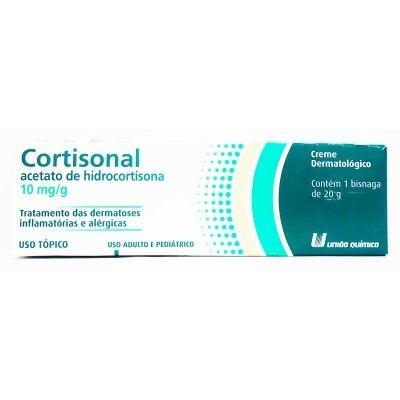 Hidrocortisona - CORTISONAL CREME 20GR