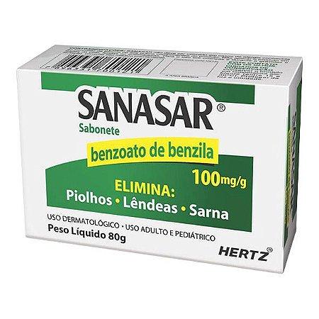 Benzoato de Benzila - SANASAR SAB 80GR