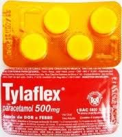 Paracetamol  - TYLAFLEX 500MG 4CPR