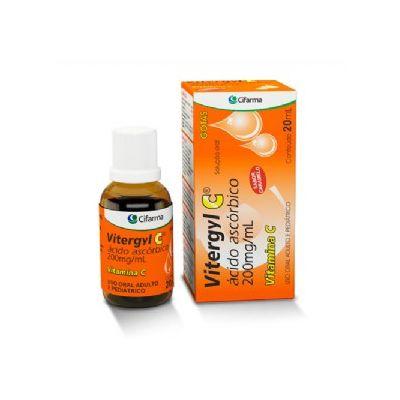 Acido Ascorbico - VITERGYL C GTS 20ML