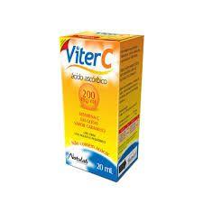 VITAMINA C GTS - VITER C 20 ML ( Acido Ascorbico )
