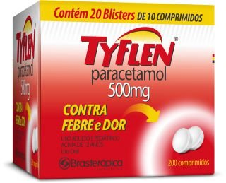 Paracetamol  - TYFLEN 500mg 10cpr