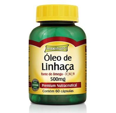 ÓLEO DE LINHAÇA 500MG 60 CAPSULAS
